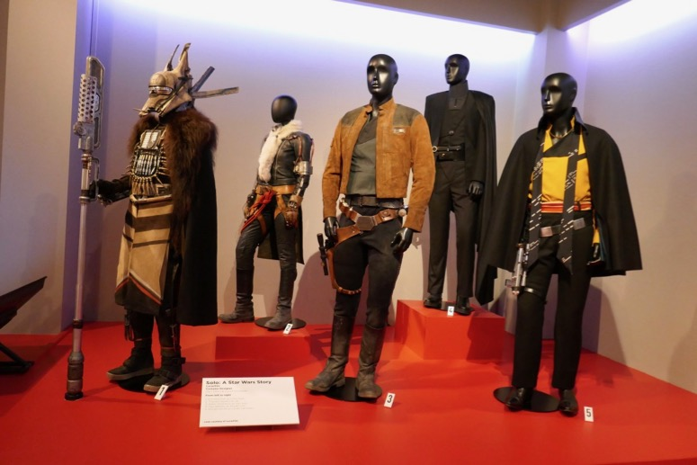 Solo A Star Wars Story film costumes