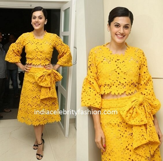 Taapsee Pannu in Bambah Boutique Dress