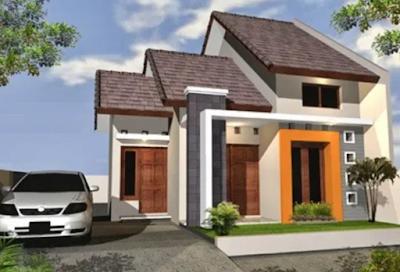Gambar model atap rumah minimalis atap bersusun 3