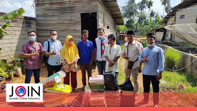 Peduli Warga ditengah Masa Pandemi Covid-19, DPW JOIN Jambi Bagikan Paket Sembako dan Al-Qur'an