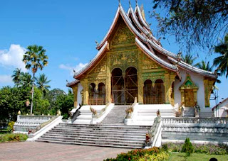 Royal Palace Temple Luang Prabang, Lao