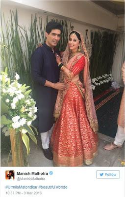 Manish-Malhotra-cupid-in-Urmilas-wedding