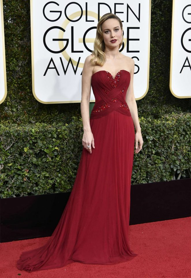 Brie Larson – 74th Annual Golden Globe Awards in Beverly Hills