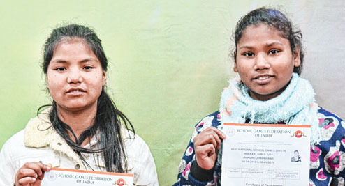 Bhima & Puja's journey From child labour to Bengal's Under-14 girls' hockey team