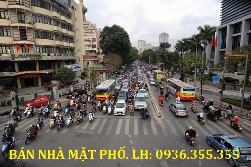 Bán nhà mặt phố Huỳnh Thúc Kháng, Đống Đa, Hà Nội