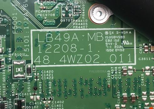 12208-1 LENOVO B490 Laptop Bios