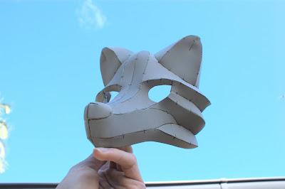 Wolf/Fox Masquerade Mask