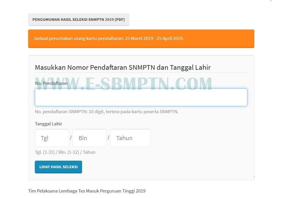 SNMPTN/SBMPTN