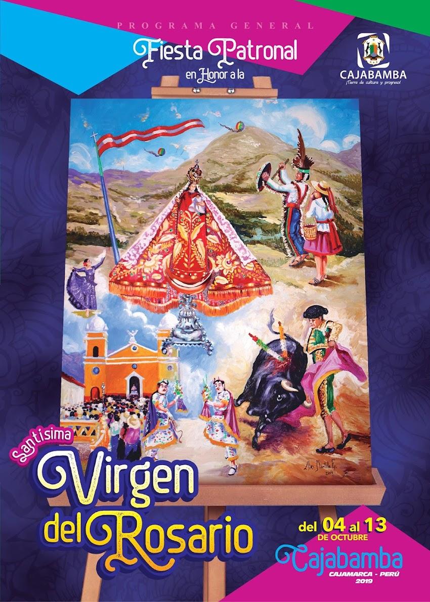 Programa oficial de la fiesta patronal Cajabamba 2019
