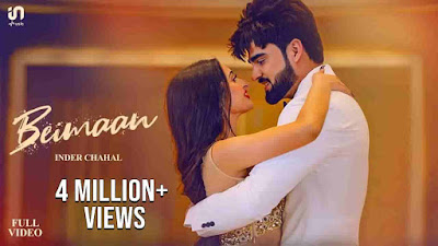 Beimaan Song Lyrics In Hindi - Sucha Yaar | Inder Chahal
