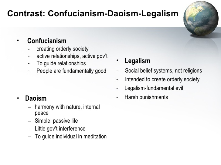 similarities between confucianism and legalism