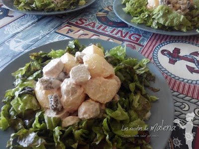 Ensalada de patata alemana