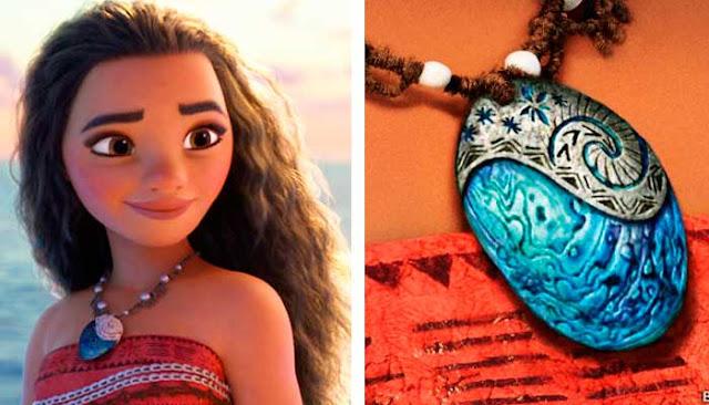 Moana princesa da Disney, Colar azul