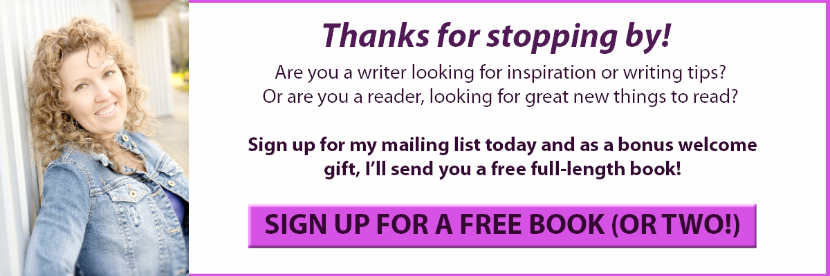Join my Mailing List for Free Books!