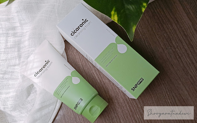 Review SNP Cicaronic Cleansing Foam