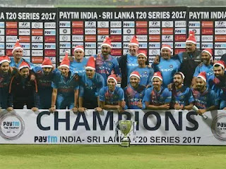 Sri Lanka tour of India 3-Match T20I Series 2017