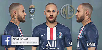 PES 2020 Faces Neymar Jr by Nanilincol44