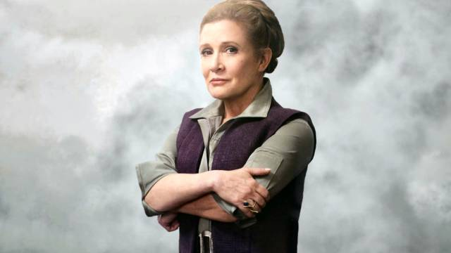 Carrie Fisher tendrá metraje en El Ascenso de Skywalker