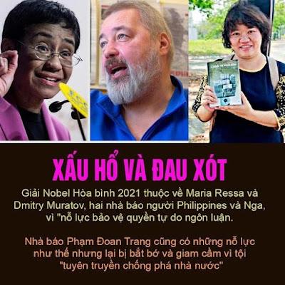 """TRANG FACEBOOK VIỆT TÂN LẠI """"HÁT HAY"""" VỀ PHẠM ĐOAN TRANG"""