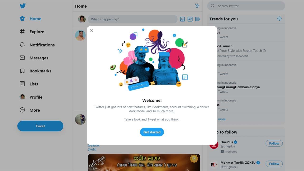 Twitter Redesign Dengan Loading Lebih Cepat Dan Ringan