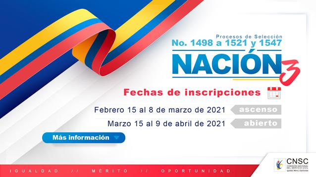 https://www.notasrosas.com/Comisión Nacional del Servicio Civil -CNSC- abrió inscripciones para 2.670 empleos