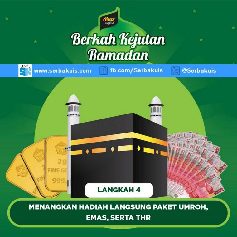Promo Berkah Kejutan Ramadhan Berhadiah 3 Paket Umroh