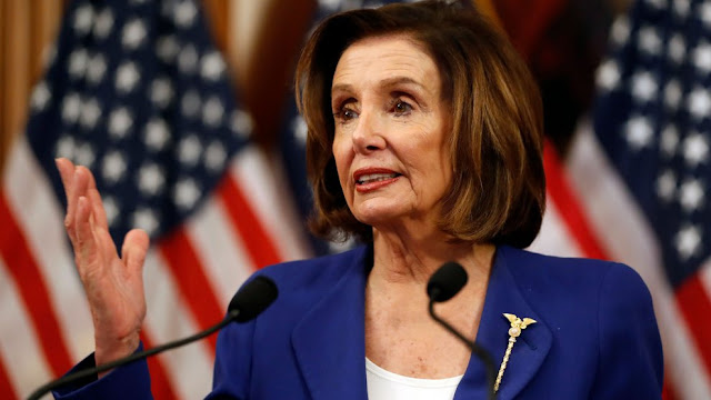 Speaker Pelosi rips Trump as 'weak leader,'he's failed on The epidemic response