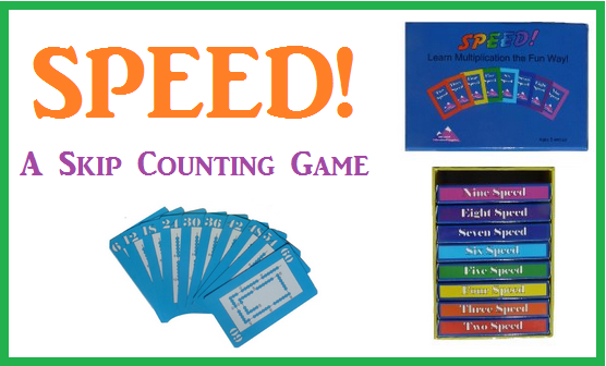 Number Names Worksheets skip counting activity : SPEED! A Skip Counting Game - The Curriculum Choice