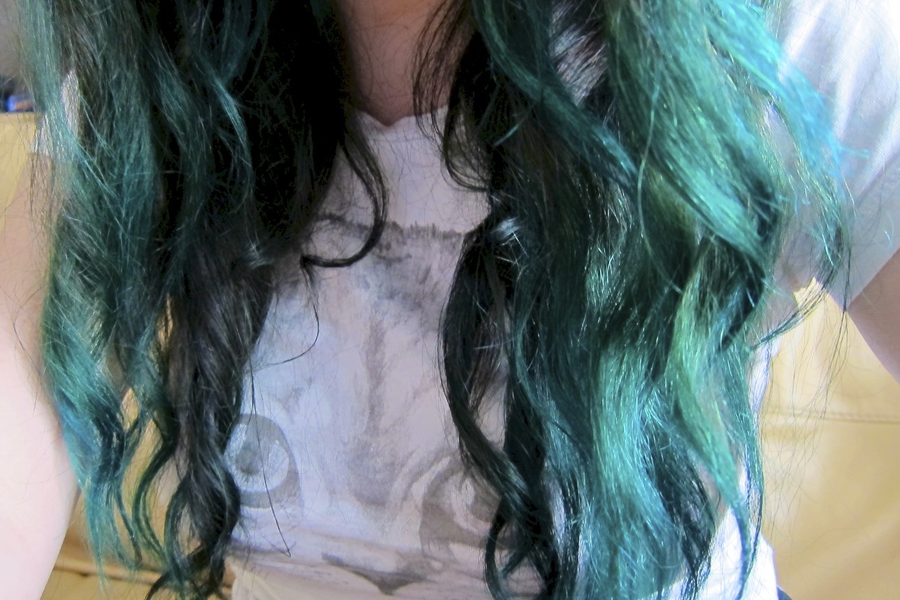 Dark Brown Hair Red Dip Dye Natural Hair Dye 2018