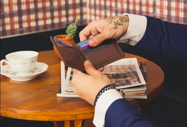 carteira masculina moderna