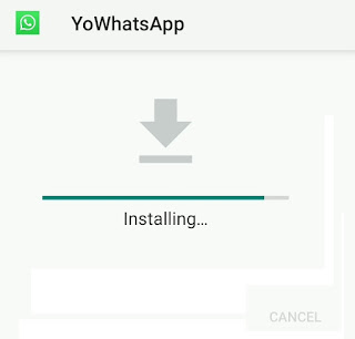 installing yowhatsapp app