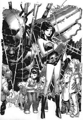 Wonder Woman by Chris Bachalo