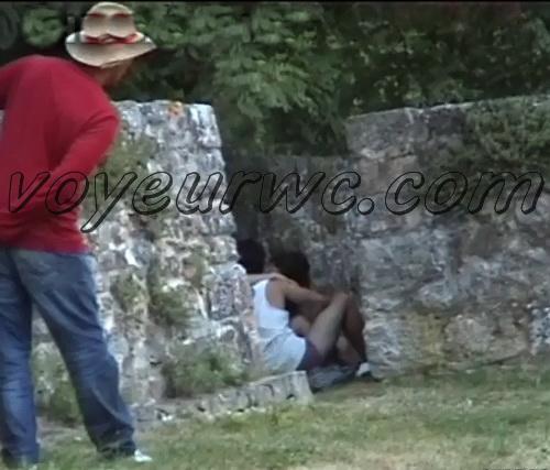 Couple Having Sex in Public on Street Hidden Cam (Galician Night Sex 86-87)