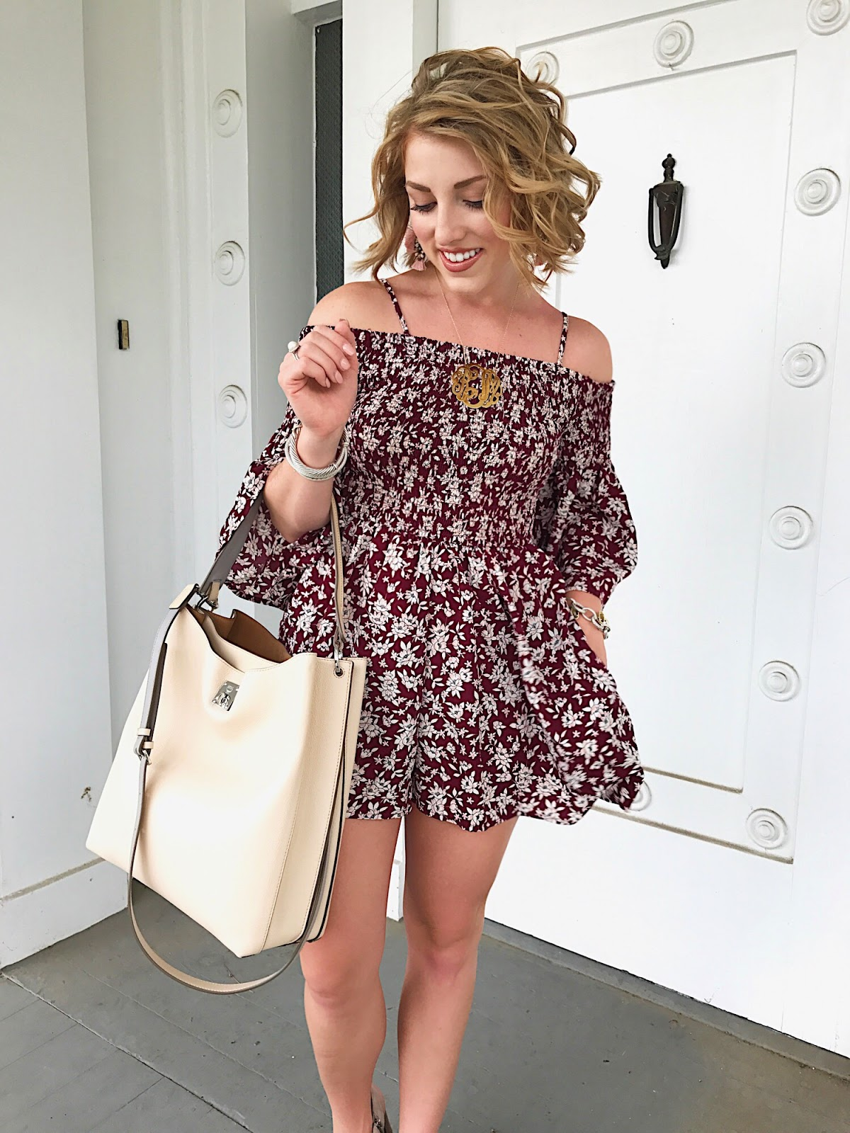 Transitional Romper - Click through to see more on Something Delightful Blog.