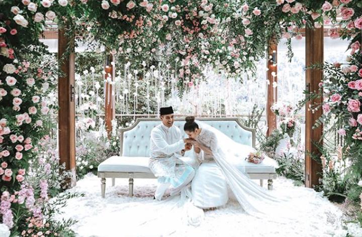 Foto Perkahwinan Pasangan SM Faliq Nasimuddin dan Chryseis Tan