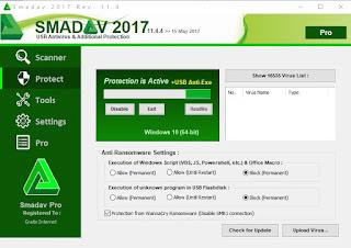 Screenshot Smadav Pro 2017 v11.4.4 Full Version