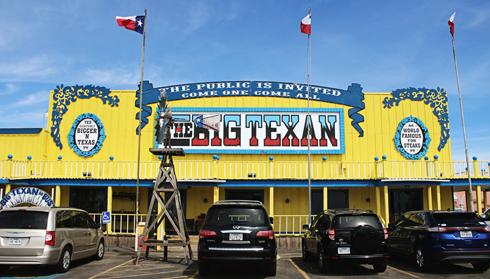 Big Texan Steak Ranch Route 66 Texas