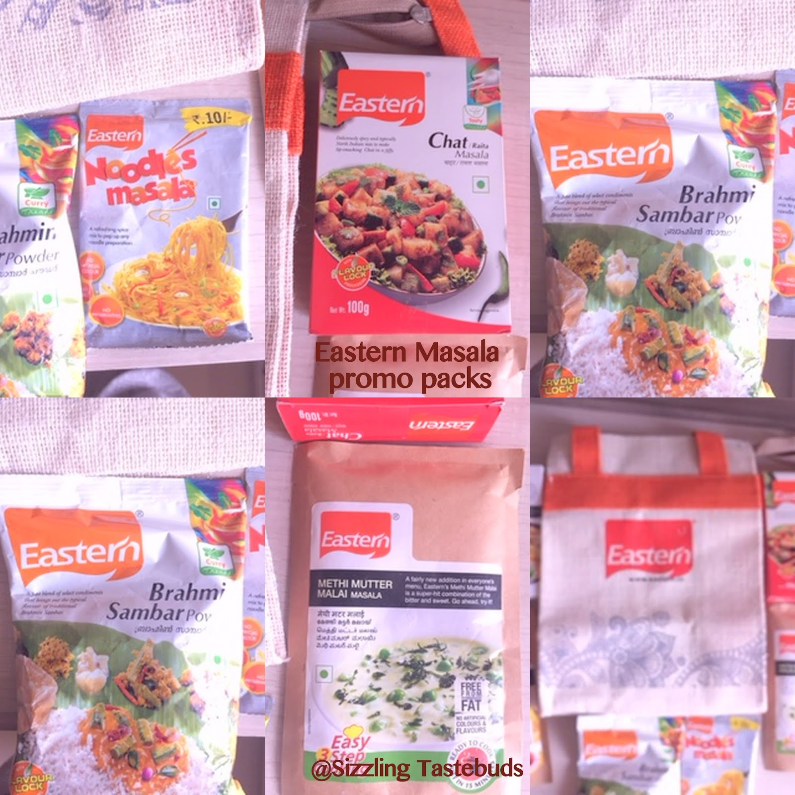 Sizzling Tastebuds: Shahi Paneer Masala & Eastern Spices Product