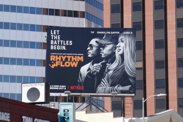 Rhythm Flow series premiere billboard