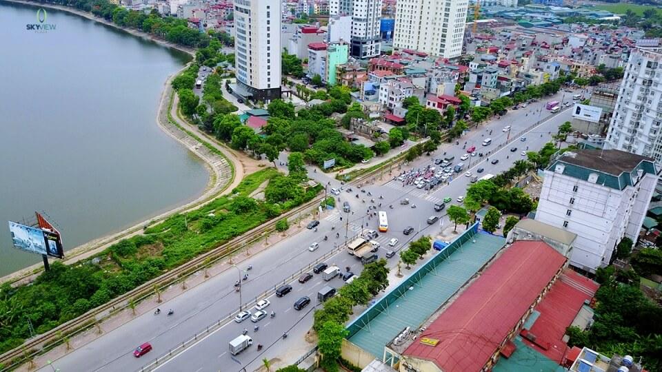 Hạ tầng giao thông đồng bộ khu Giải Phóng - Linh Đàm