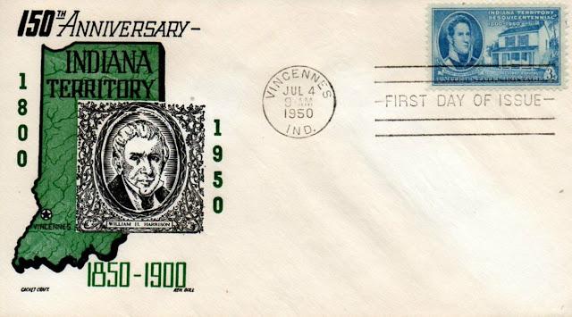 Indiana Territory FDC