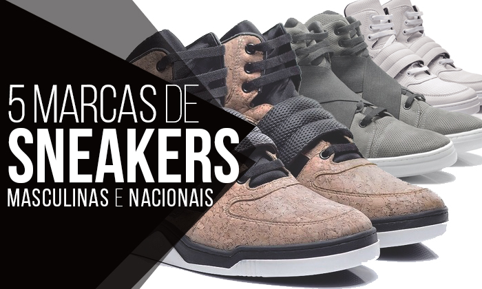 63359b6de ... Marcas Nacionais de Sneakers Masculinos. Afinal, os tênis estão super  valorizados, né? E cada vez mais as marcas estão apostando em modelos ...