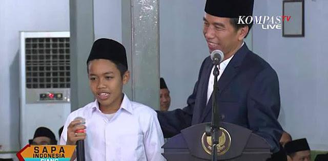 Terkendala Ekonomi, Santri Yang Ramal Prabowo Jadi Menteri Jokowi Dapat Beasiswa Dari NU