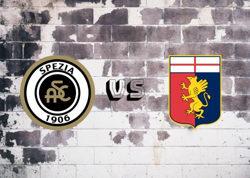 Spezia vs Genoa  Resumen