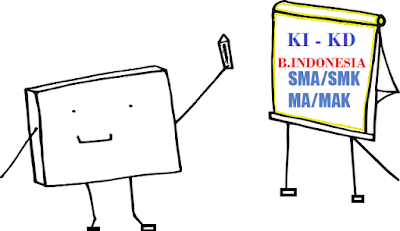 KI dan KD Bahasa Indonesia SMA/SMK/MA/MAK Kelas 10, 11, dan 12 Kurikulum Darurat