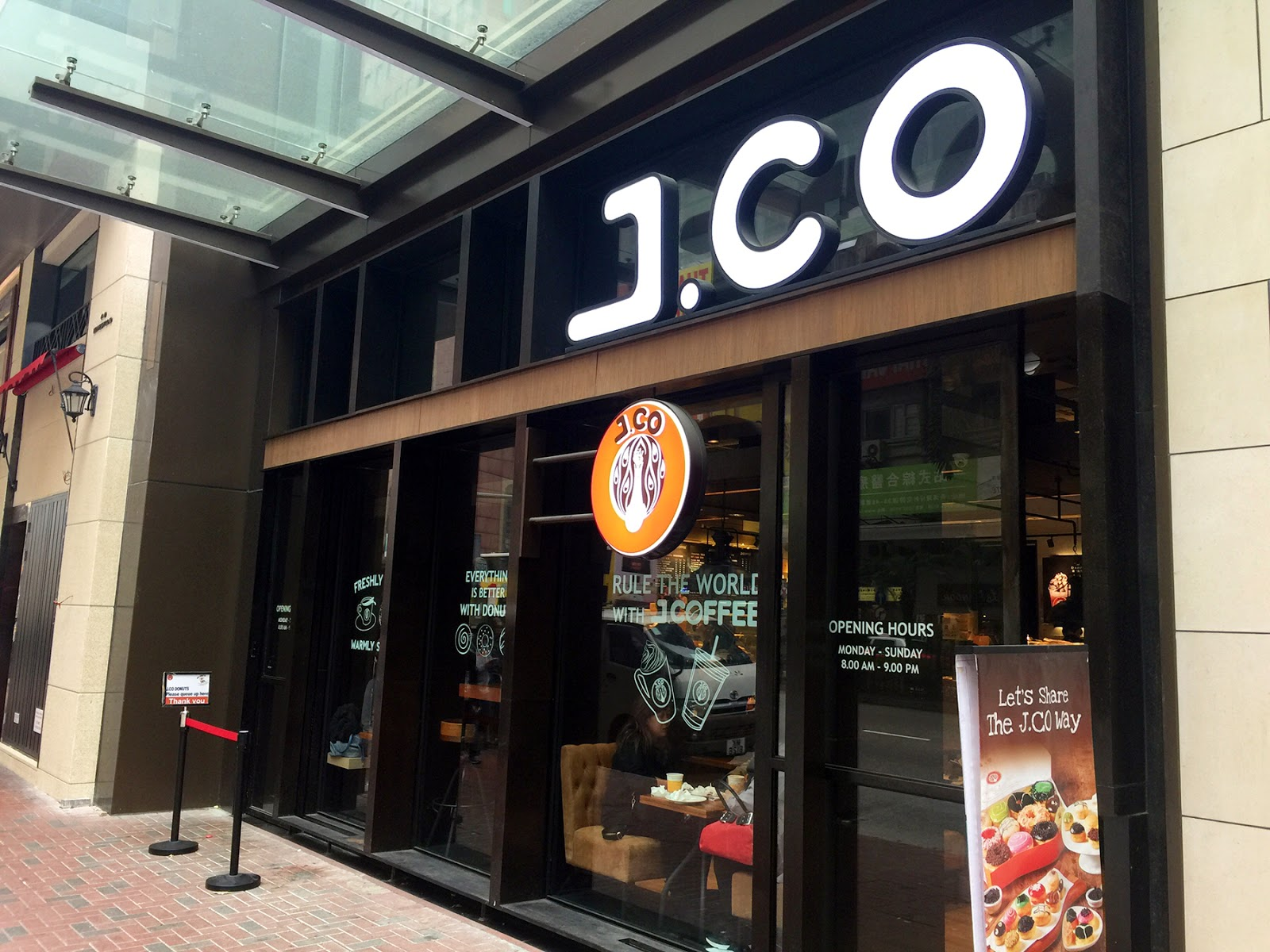 J.Co Donuts & Coffee (Hong Kong, CHINA) ★★★☆☆   A traveling foodie's gastronomic diary from around the world...
