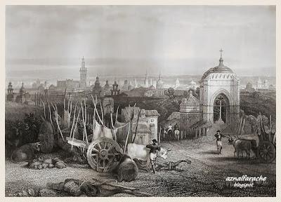 Vista de Sevilla desde la Cruz del Campo - 1834 - David Roberts