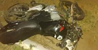 Duas pessoas morrem após colisão entre motos na Paraíba