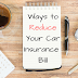 Tips to Reduce Your Motor Insurance Premium Costs