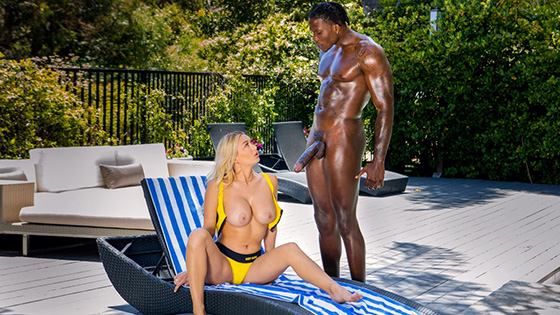 [Blacked] Natalia Starr Up For Anything